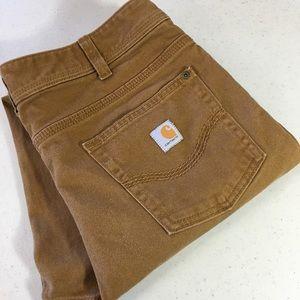 💣 Carhartt Women's Crop Pants Size 12 Capri